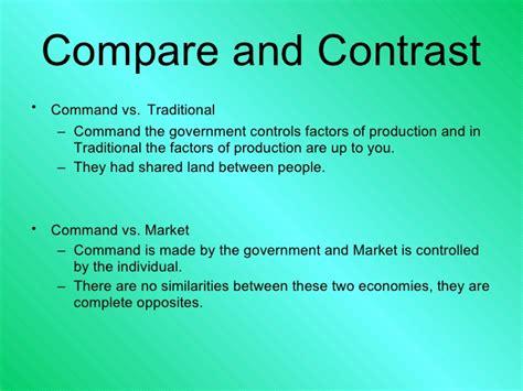Market Economy Vs Command Economy Essay by Sle Command Market