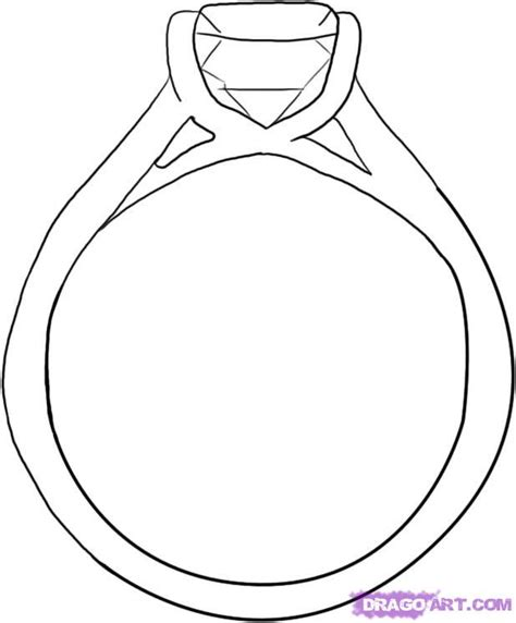 Eheringe Zeichnen by How To Draw A Ring Step By Step Valentines