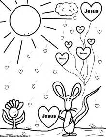 church house collection blog valentine mouse holding jesus balloons coloring