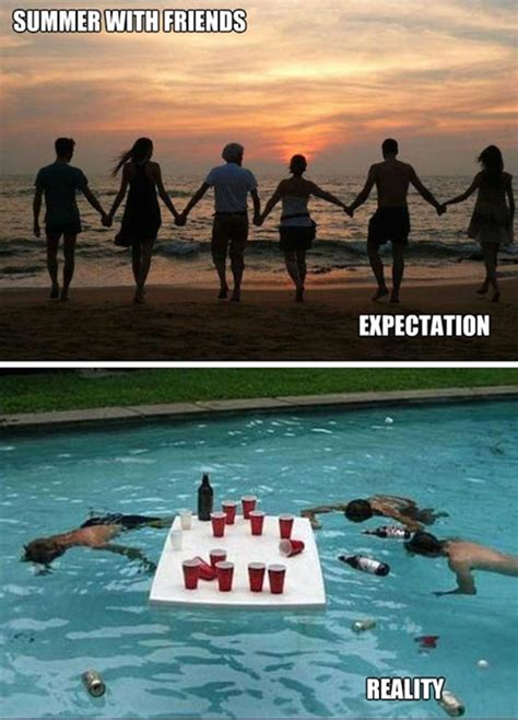 Funny Summer Memes - funny memes summer time expectation funny memes