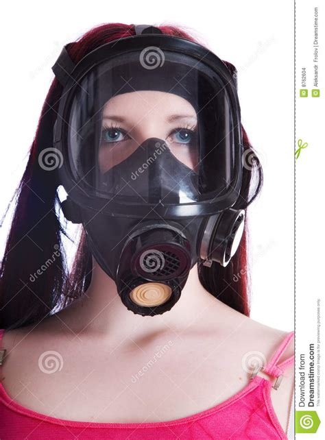 the in gas mask stock images image 8762604
