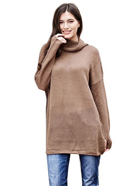 Turtle Neck Sleeve Sweater s fashion turtleneck sleeve fit pullover
