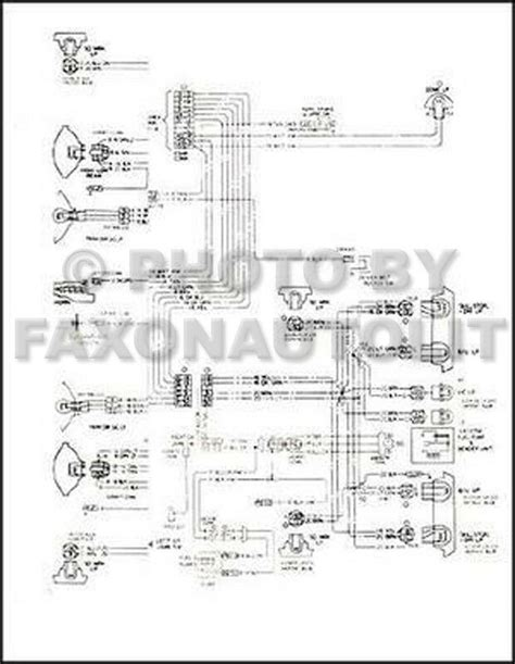 gmc safari chevy astro van wiring diagram original electrical schematic ebay