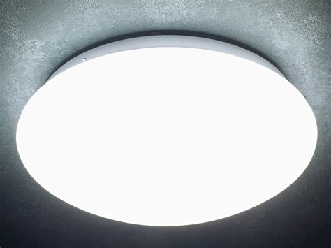 luminea sensor deckenleuchte high power led lampe mit