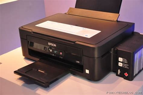 Printer Epson L210 Medan epson launches new l series ink tank system printers tech philippines tech news