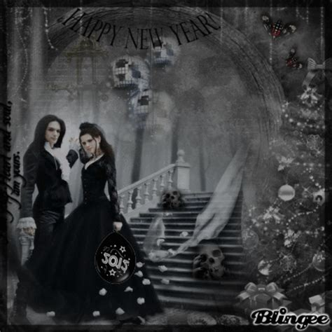 happy  year goth version picture  blingeecom