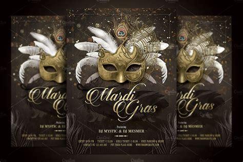 masquerade poster template mardi gras masquerade flyer flyer templates