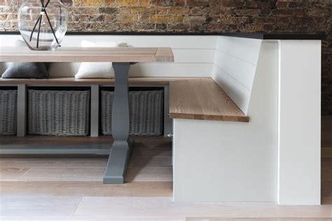 built in kitchen seating bench neptune dining tables harrogate 170cm rectangular table