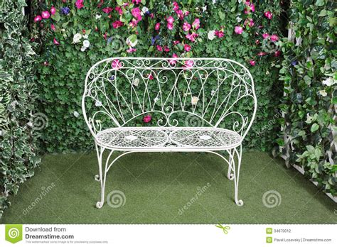 beautiful bench beautiful retro bench stock photography image 34670012