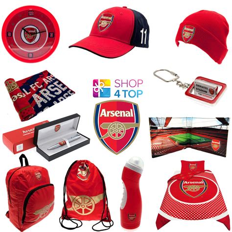 gifts for arsenal fans arsenal fc football club soccer team official fan apparel