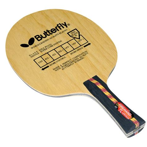 Butterfly Firehand Flared Table Tennis Blade Online