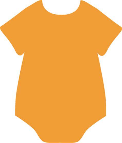 Transparent Basic T Shirt Baby Blue orange onesie clip orange onesie image