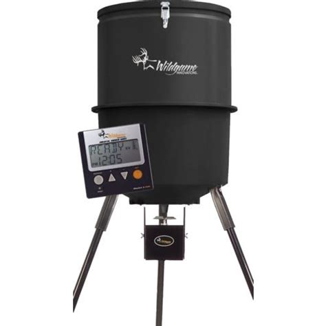 Deer Feeder Timers Academy Wildgame Innovations 275 Lb Poly Barrel Feeder Academy