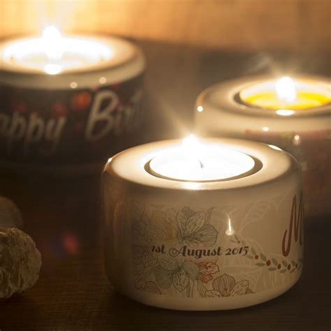 Candle Giveaways - personalized candle favors custom tea light votive candle holders