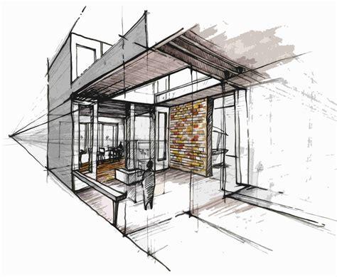B Arch Sketches by Interior Sketch Sketch Drawing Interior