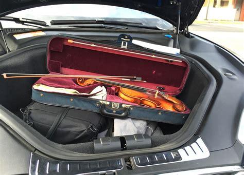 Tesla Model S Luggage Space Tesla Model S Cargo Space