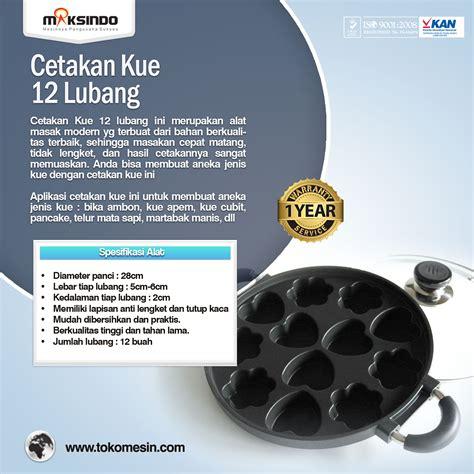Cetakan Apem Teflon Surabaya jual cetakan kue 12 lubang di surabaya toko mesin