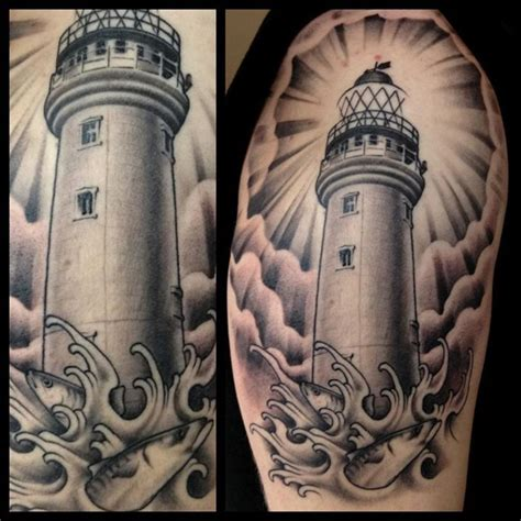 light house tattoo lighthouse by poole world