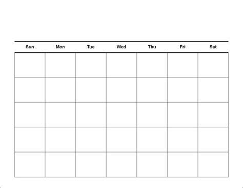 blank printable calendar template print a blank january calendar page calendar template 2016