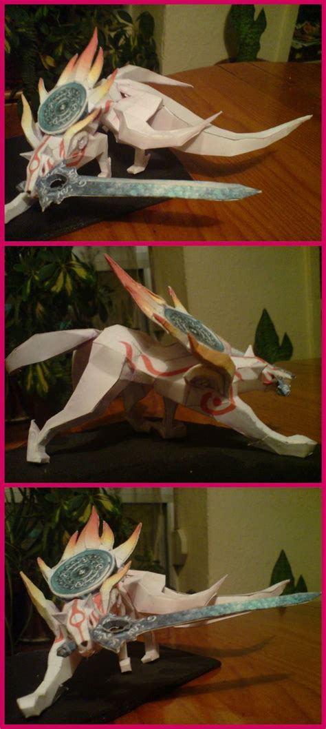 Amaterasu Papercraft - amaterasu okami papercraft by yuki myst on deviantart