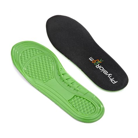 Gel Comfort Insoles by Physioroom Tpe Polymer Gel Insole Shock Absorbing