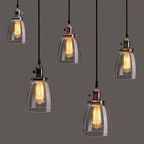 Pendant Light Covers L Cover E27 2m Retro Vintage Industrial Coffee House Glass Cover Ceiling Pendant L