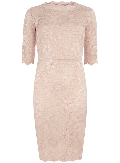 Id Pink Lace Dress pink lace dress view all new in new in dorothy perkins