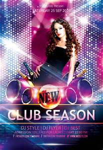 club flyer templates new season free psd flyer templates graphicsfuel