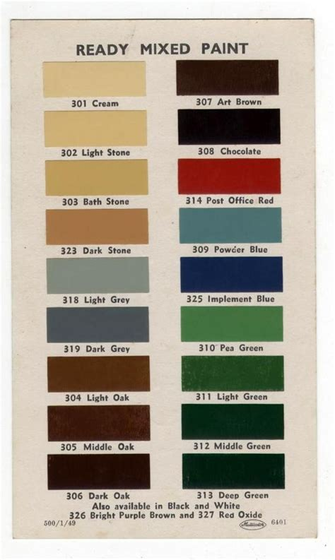 17 best images about color charts on paint colors benjamin paint and vintage