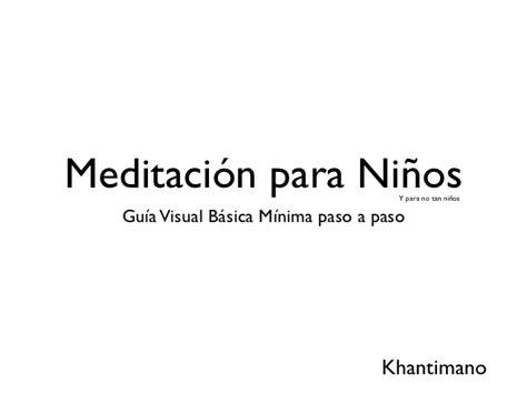 meditacin para nios en 1543644643 meditacion para ni 241 os