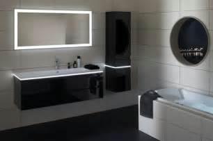 Formidable Salle De Bain Gris Anthracite #1: colonne-salle-de-bain-ikea-avec-led-meuble-blanc-pour-la-salle-de-bain-avec-miroir-rectangulaire-avec-ledd.jpg