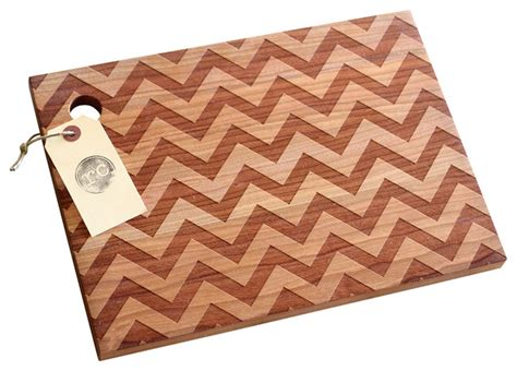 pattern wood cutting board solid wood chevron pattern design cutting board cherry