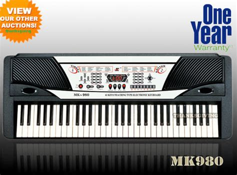 Keyboard Mk 980 mk 980 61 size key keyboard teaching type