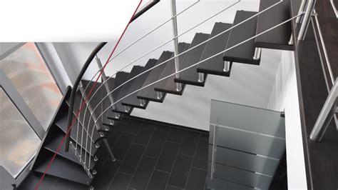 treppengeländer system grau treppe design