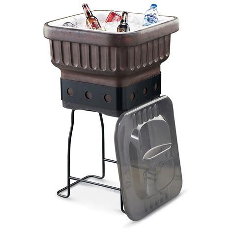 igloo 174 terra cotta bronze patio cooler 129724