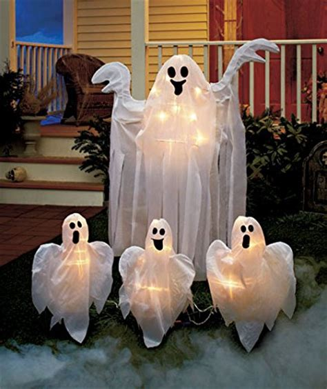 lighted outdoor halloween decorations halloween yard decoration lights home designing