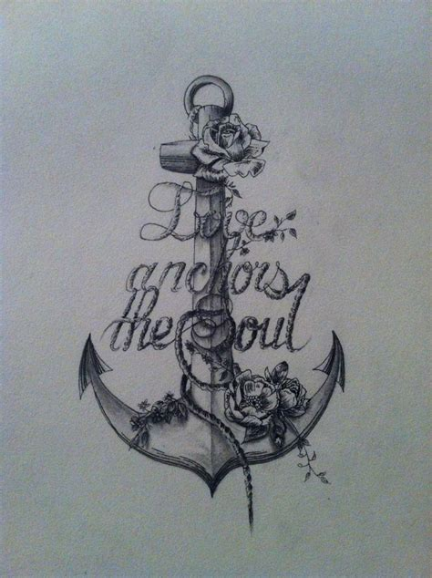 rose and anchor tattoo tats tattoos inspiration artist anchor