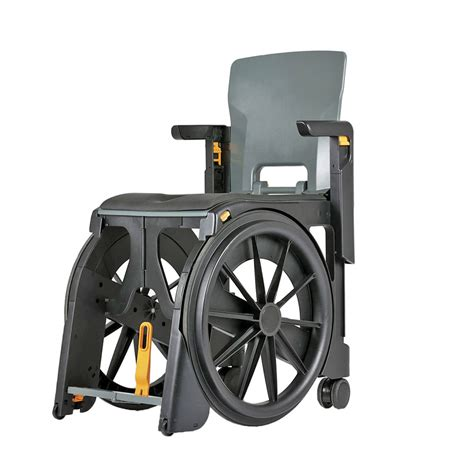 portable shower chair wheelable portable commode and shower chair collapsible