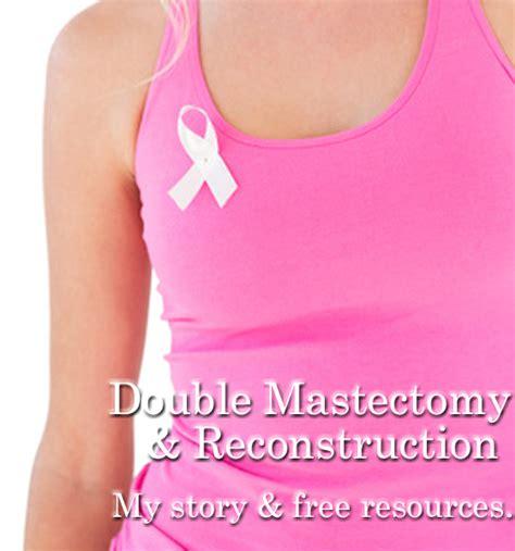 breast reconstruction following mastectomy berta lippert prophylactic double mastectomy breast