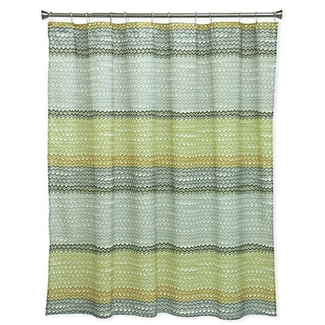 yellow and grey shower curtain bacova rhythm shower curtain in yellow grey