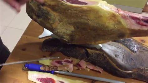 cortar el jamon cortar el jamon en casa