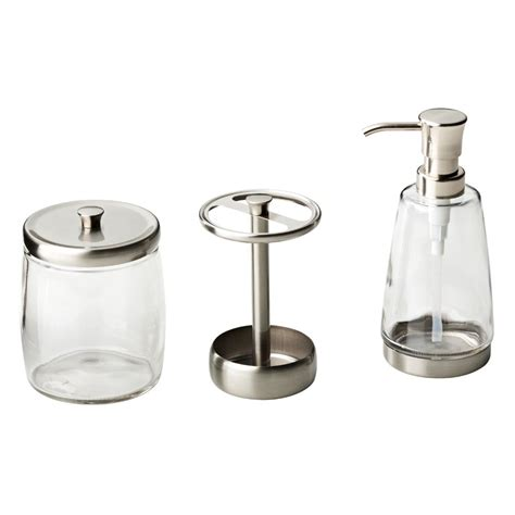 Brushed Nickel Bathroom Accessories Set Bathroom Cool Design Of Brushed Nickel Bathroom Accessories Izzalebanon
