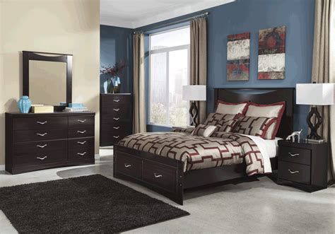 overstock bedroom furniture zanbury storage bedroom set overstock