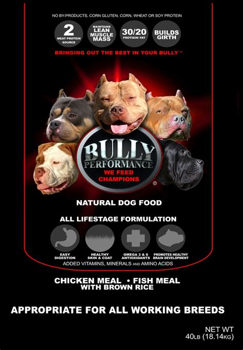 bully max puppy food bully max food