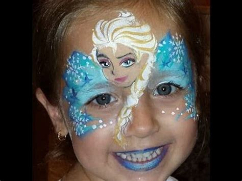 frozen inspired face painting challenge upload