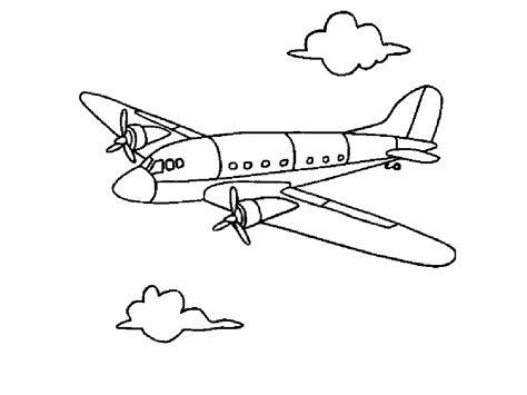 Airplane Color Pages free printable airplane coloring pages for