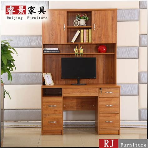cheap study table cheap wooden kookcase attached modern study table designs