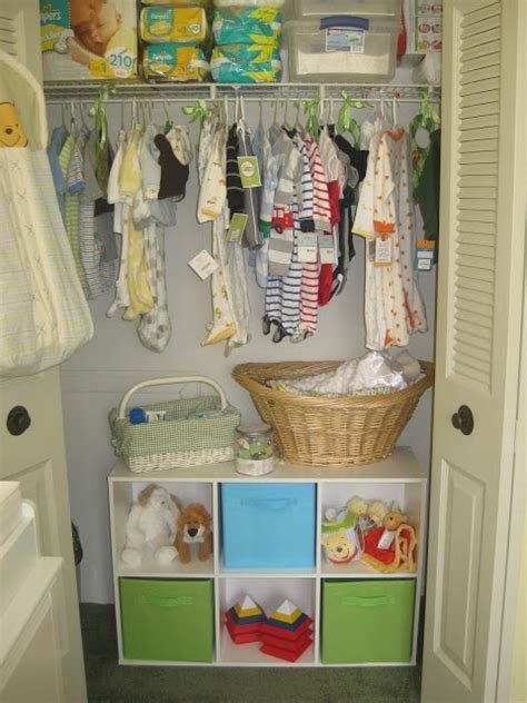 Nursery Wardrobe With Shelves by Nursery Closet Organization Like The 6 Shelves And Baskets