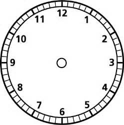 color clock printable blank clock clipart best