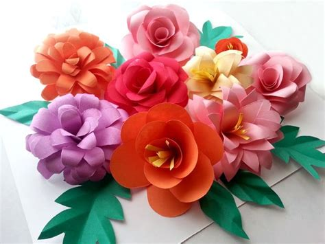 Show How To Make Paper Flowers - diy paper flowers folding tricks